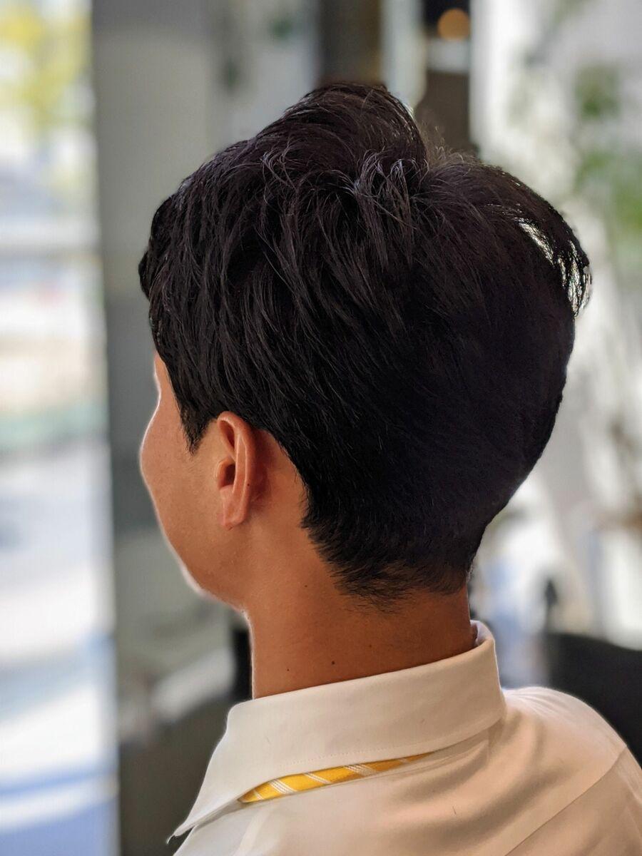 MissEssence甲斐/頭の形に合わせた刈り上げ メンズ ショート 大人 爽やか ツーブロック