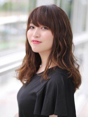 MissEssence甲斐/ 自然  グラデーション  カラー  艶髪  ロング