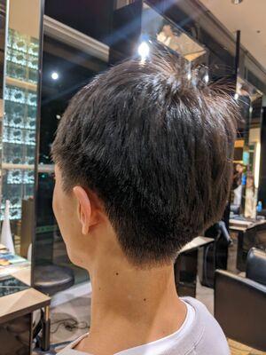 MissEssence甲斐/頭に合わせた刈り上げ メンズ ショート ナチュラル