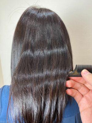 サロンソリューションで髪質改善♪