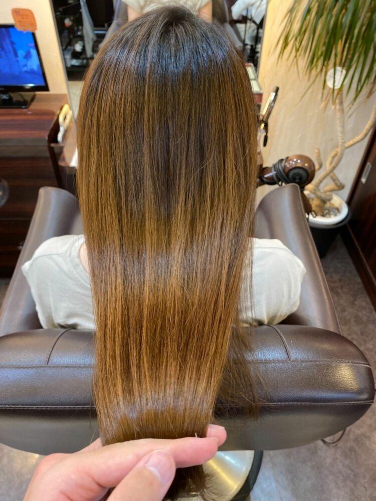 サロンソリューションで髪質改善!さらさら艶々な髪へ♪