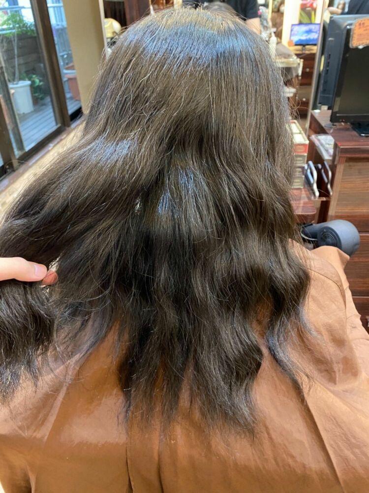 資生堂 髪質改善トリートメントで髪本来の艶感♪