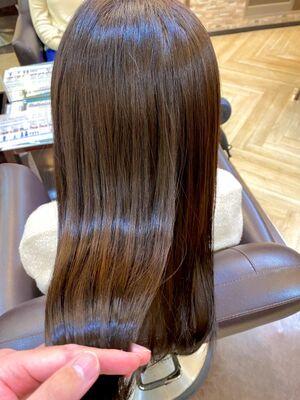 流行りの髪質改善トリートメントでうる艶髪♪