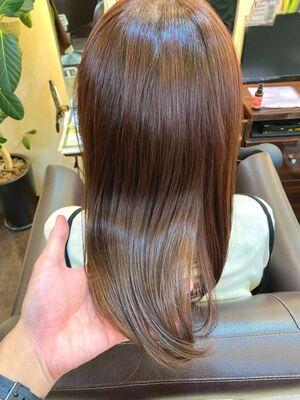 4回目の髪質改善で艶々美髪!
