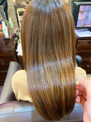 髪質改善で艶々髪♪