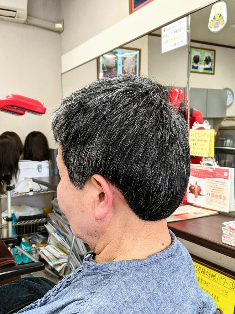 疲れを癒す★スッキリ爽快ヘアカット···¥3,800(1時間)