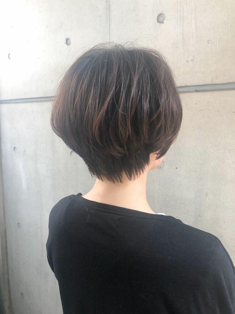 表参道駅徒歩1分☆MINX 青山 森☆360度美人シルエットショートボブ