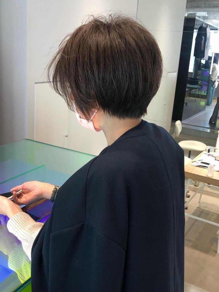 コンパクトな大人ショート【千葉駅】