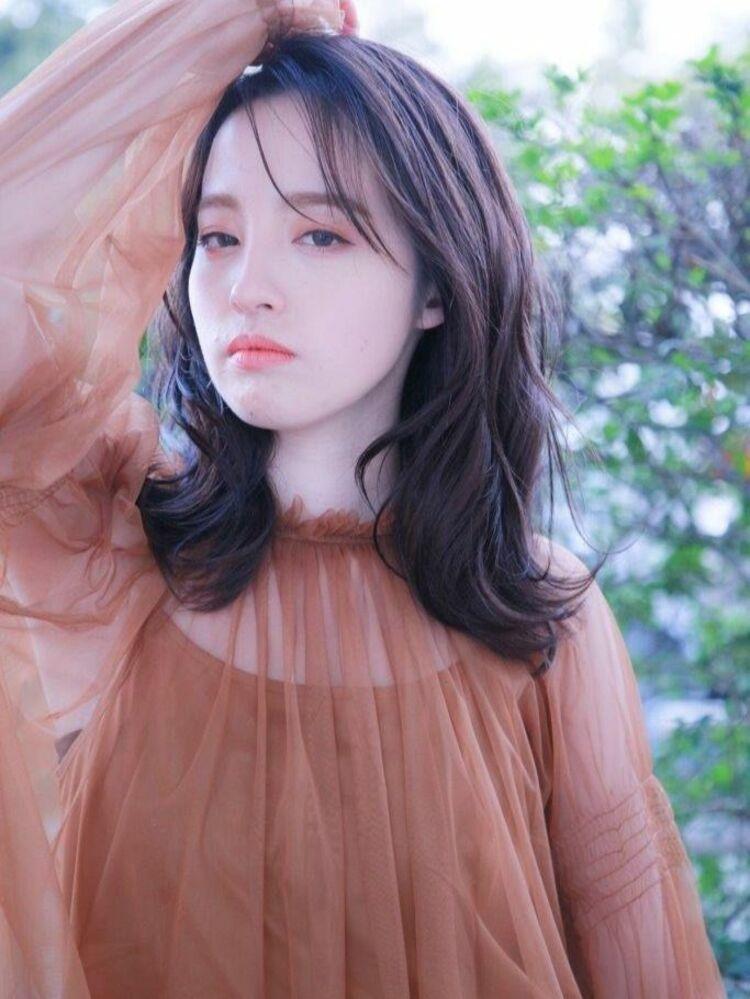 2021春パーマ韓国根元パーマ