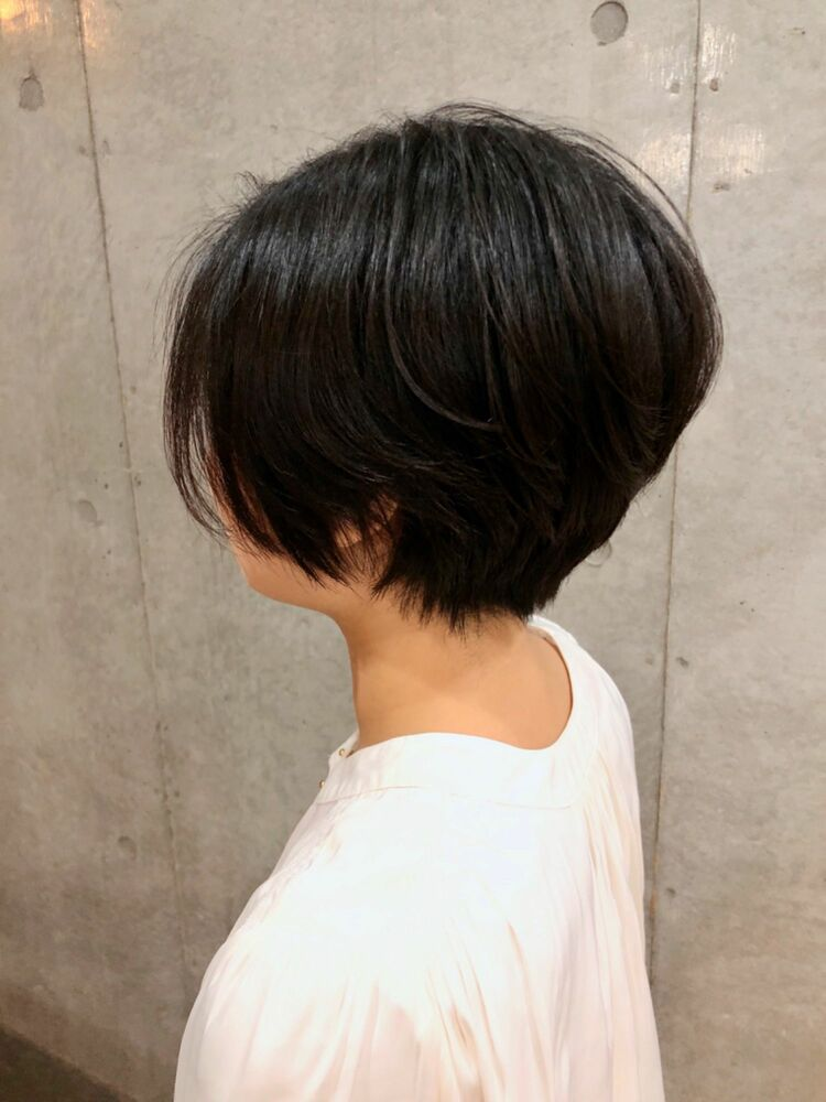 Tree Hair Salon 藤田健太郎黒髪ショートボブ