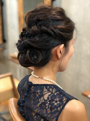 「Tree Hair Salon 藤田健太郎」結婚式お呼ばれヘアアレンジ