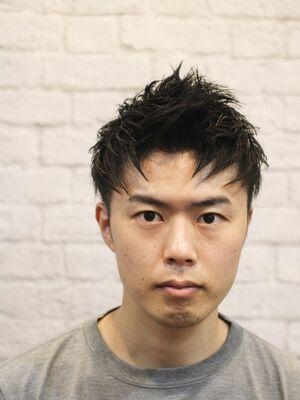 黒髪×ジェットモヒカン