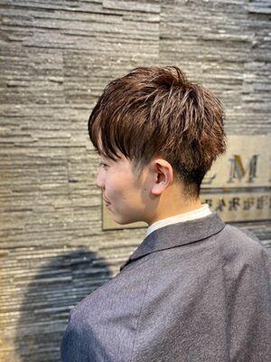 マッシュ×束感/理容室/メンズ/銀座/ヒロ銀座/