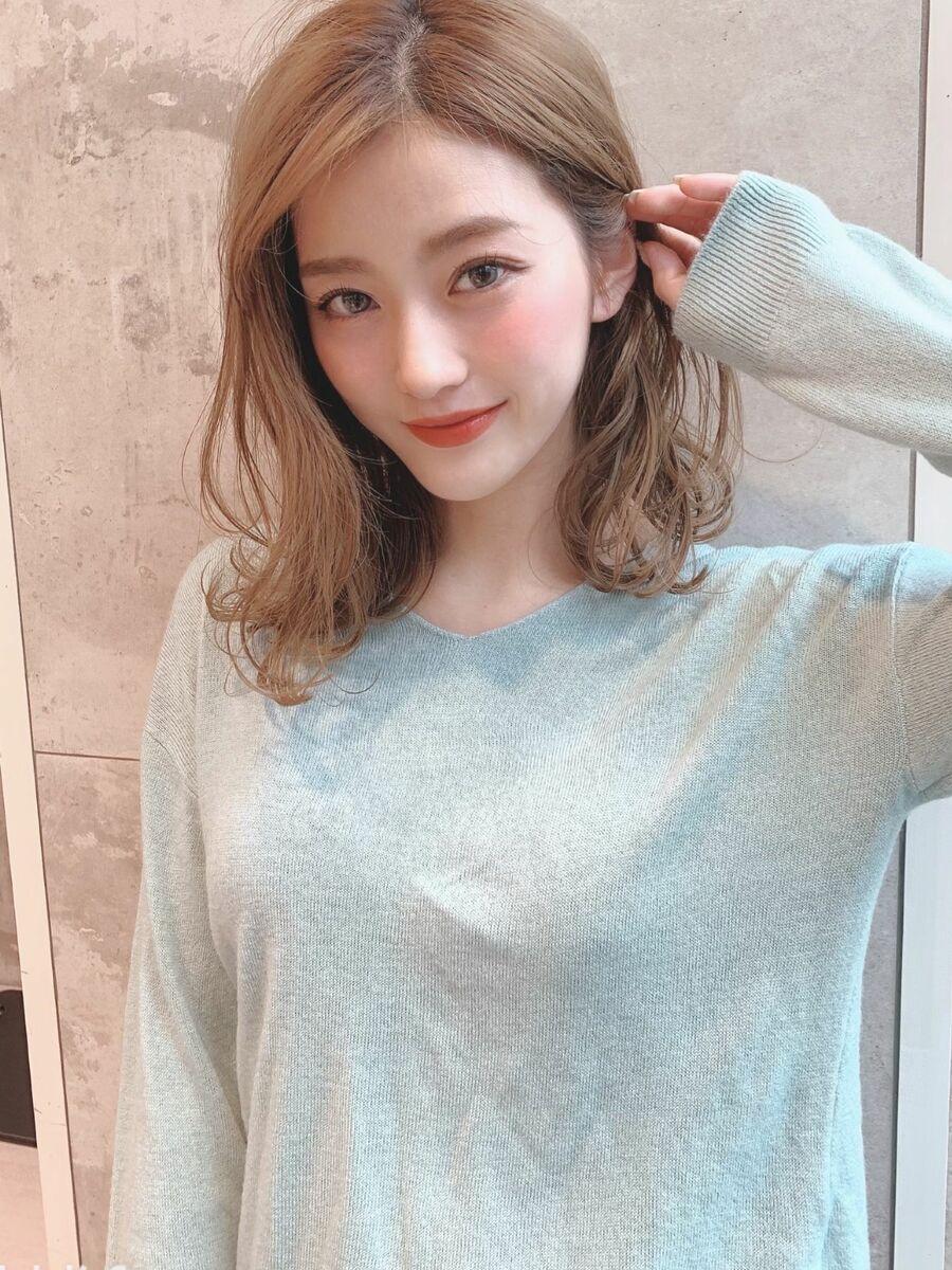 表参道エリア・口コミ1位人気サロン!ナチュラリーミディアム☆