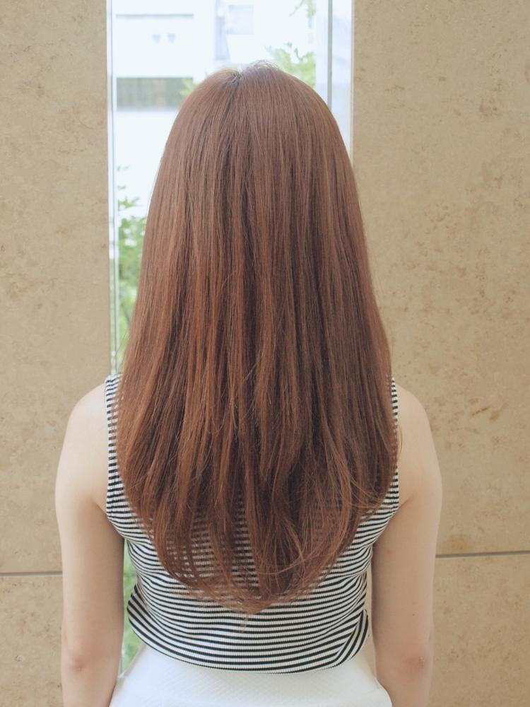 サラサラストレートヘア