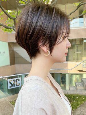 ショートボブヘアカタログパーマ20代30ヘアスタイル