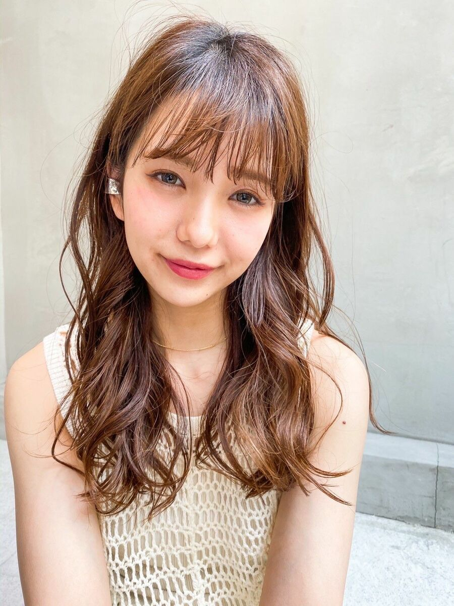 ACE 大人可愛いゆるふわロング×ぱっつん前髪♡ 横浜駅から徒歩5分