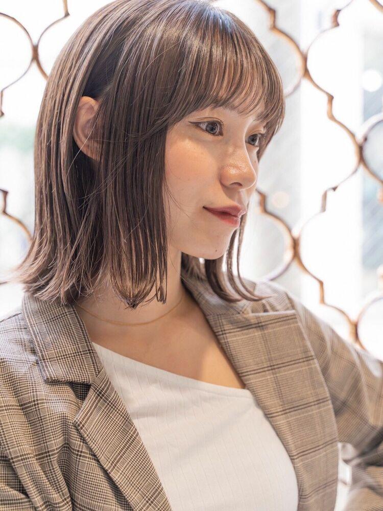 ACE 大人可愛い外ハネミディアム♡ 横浜駅から徒歩5分