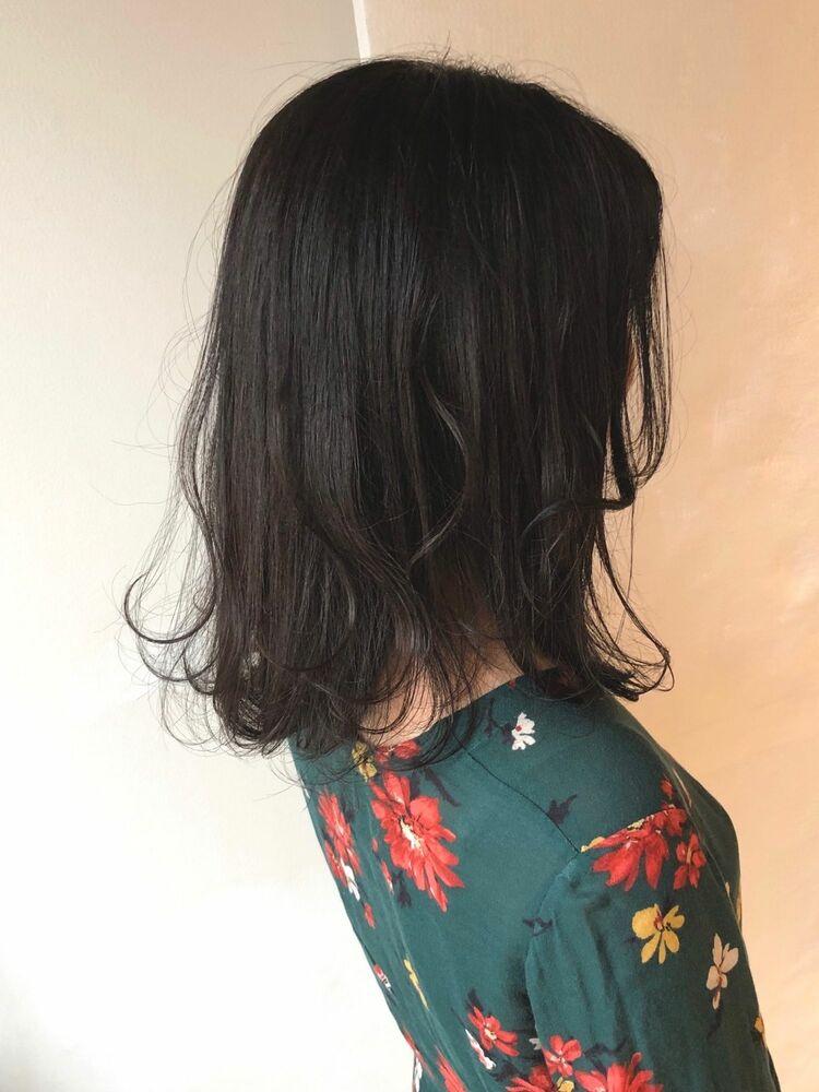 ACE ふんわり可愛い♡暗髪シアグレージュ 横浜駅から徒歩5分