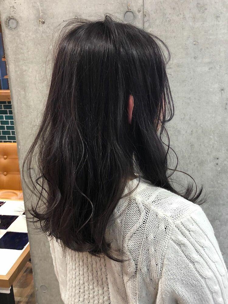 ACE 暗髪ラベンダーグレージュ×エアリー感が可愛い♡ 横浜駅から徒歩5分