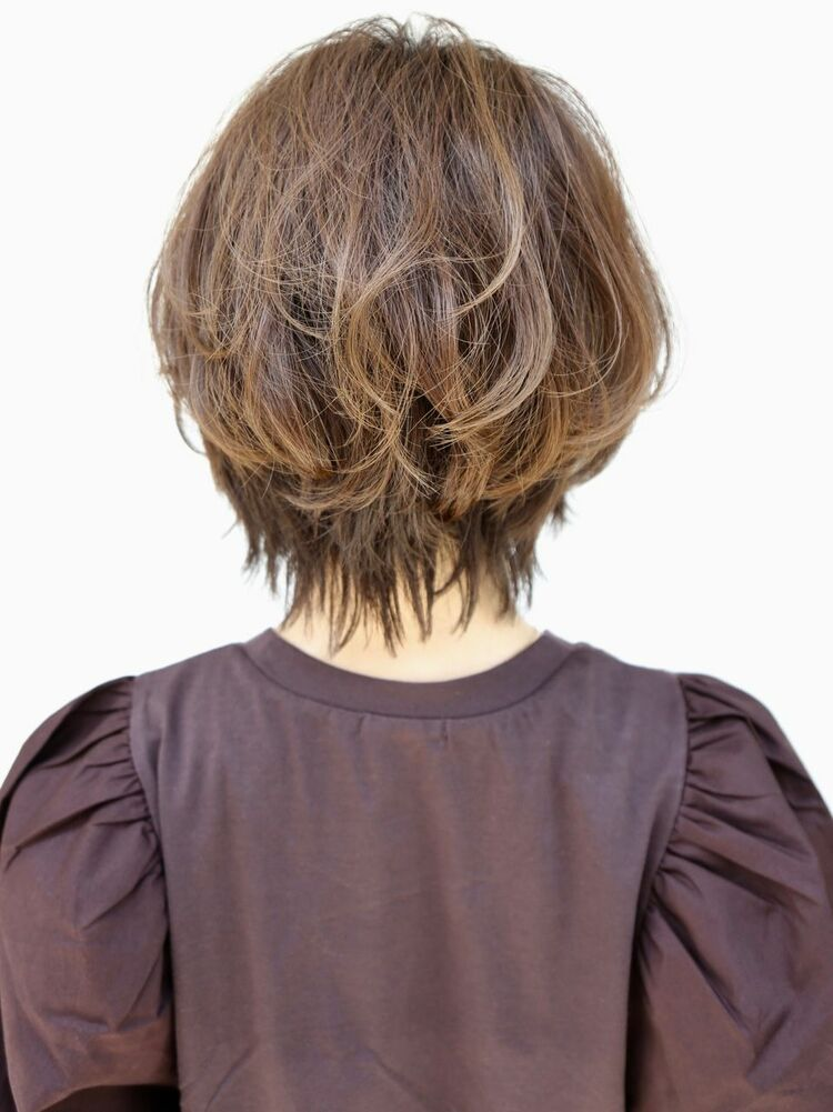大人かわいいママの髪型