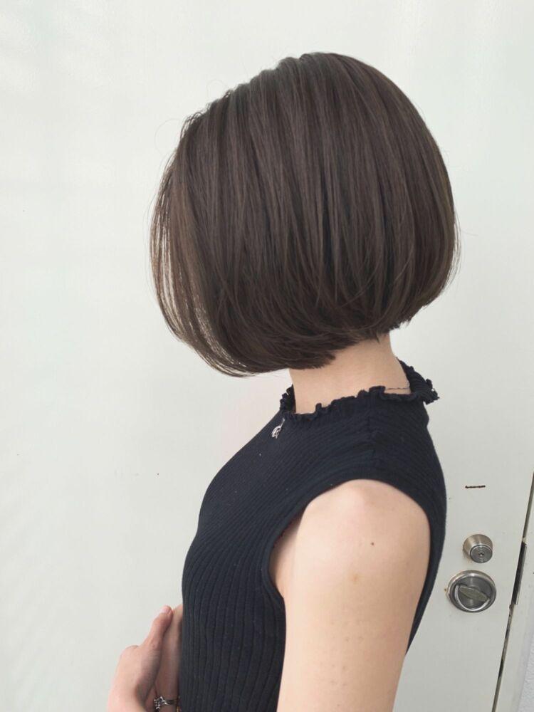 Zina/福井崇洋/ミニボブ/オリーブアッシュ