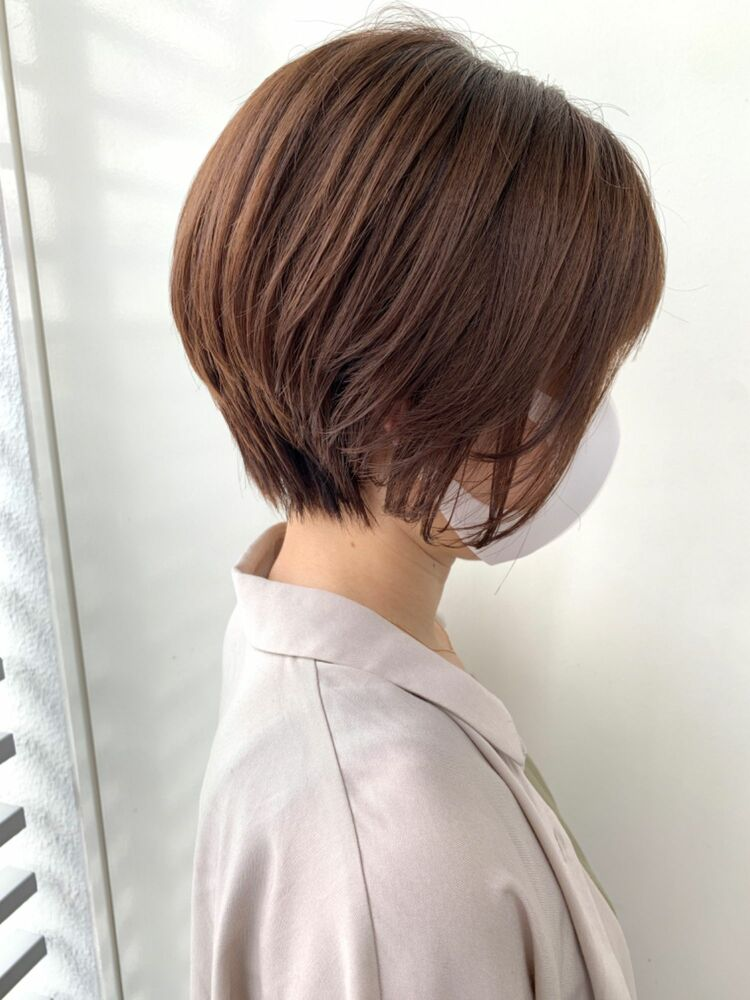 Zina/福井崇洋/ショートボブ