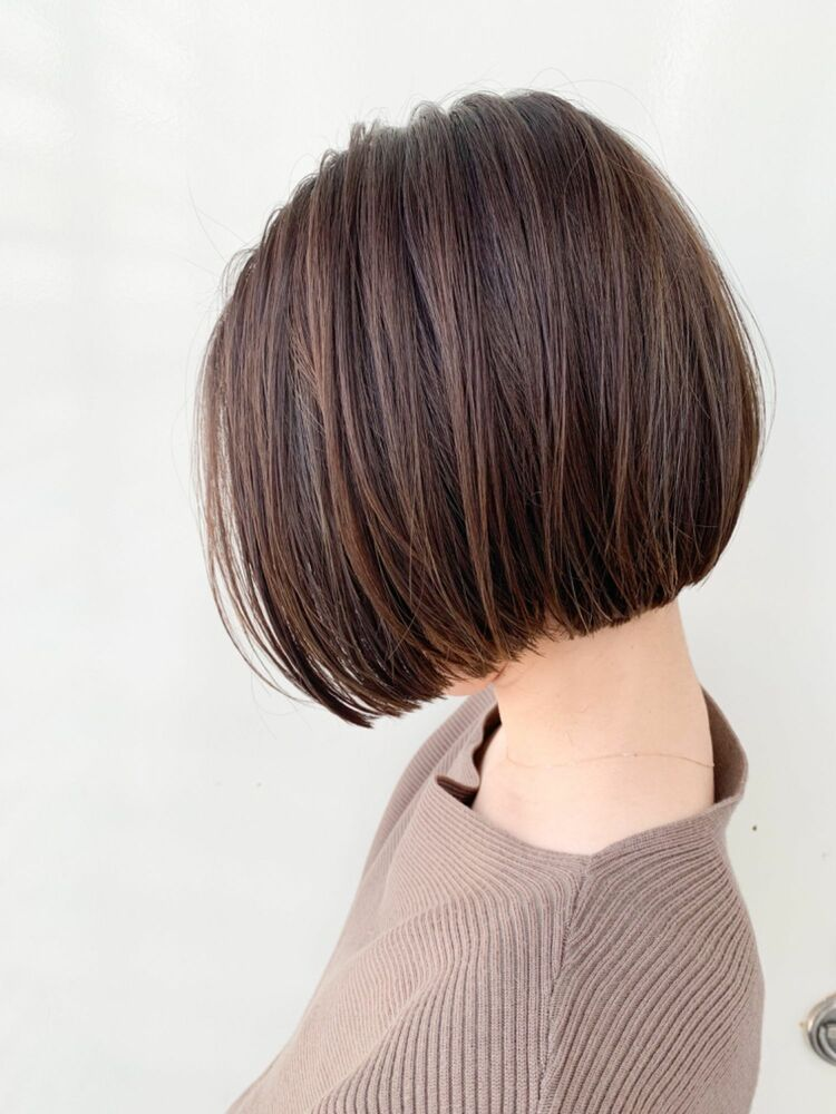 Zina/福井崇洋/オリーブベージュ/ミニボブ