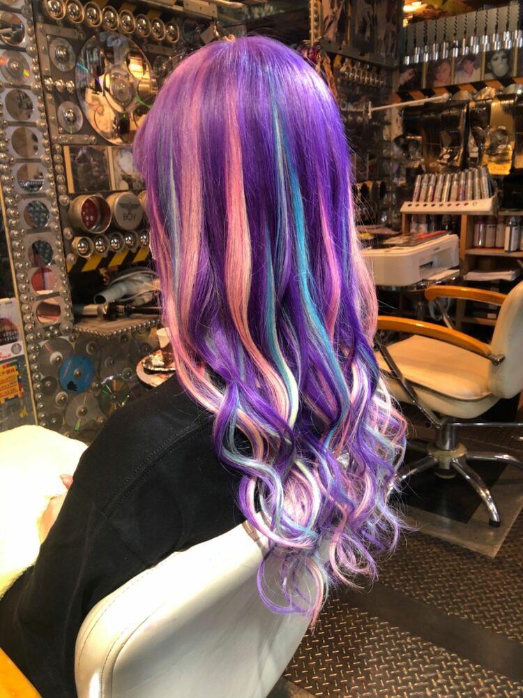 紫陽花カラー