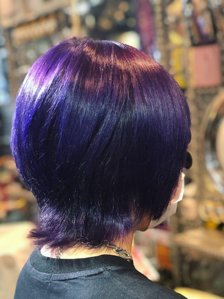 青紫カラー