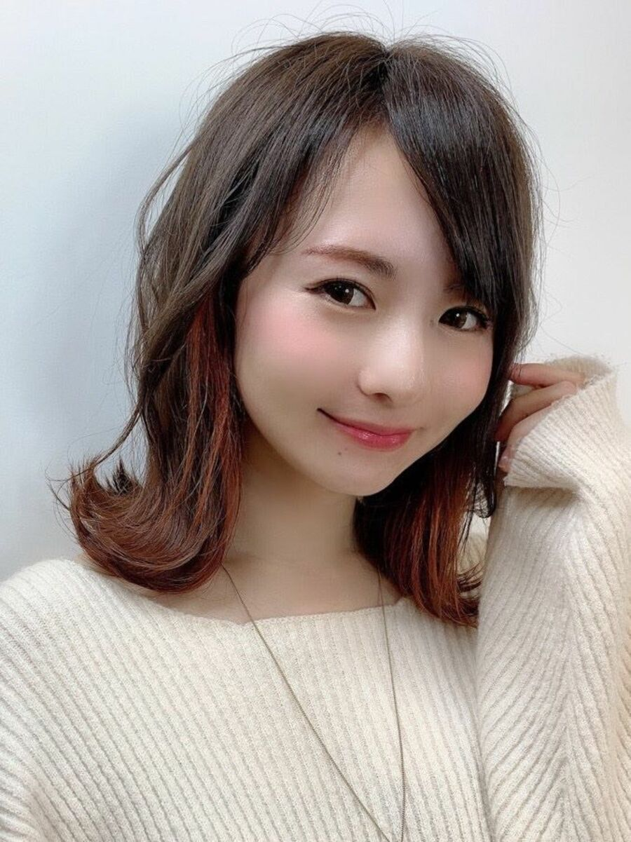 オレンジブロッサムカジュアル外ハネミディ[ietto 矢部功也]