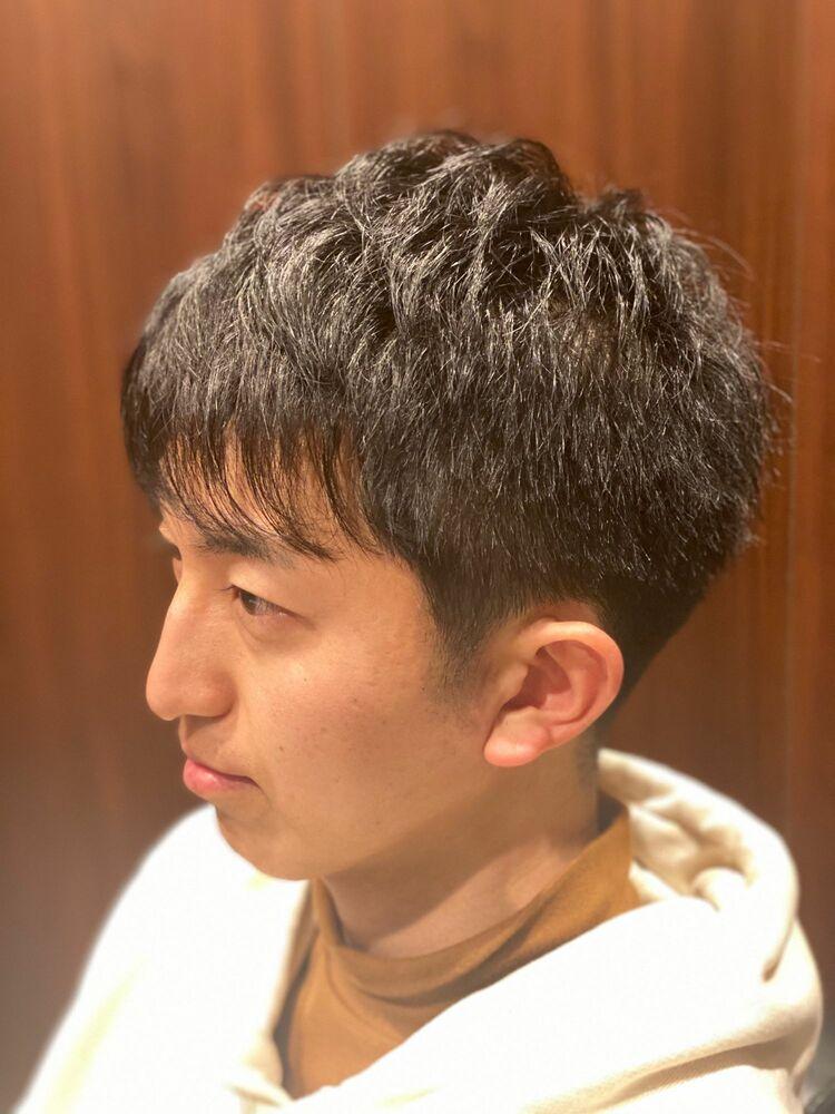 ノーセット!ナチュラルヘア 理容室/床屋/ヒロ銀座/田町/メンズ