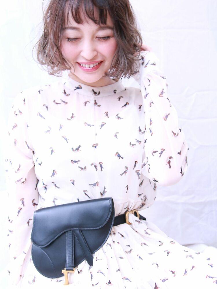 ちょい見せが可愛い☆ピンクのインナーカラー☆