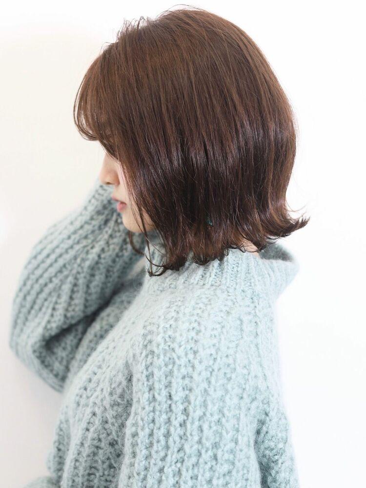 【lore 銀座】大人可愛い*小顔ミディ