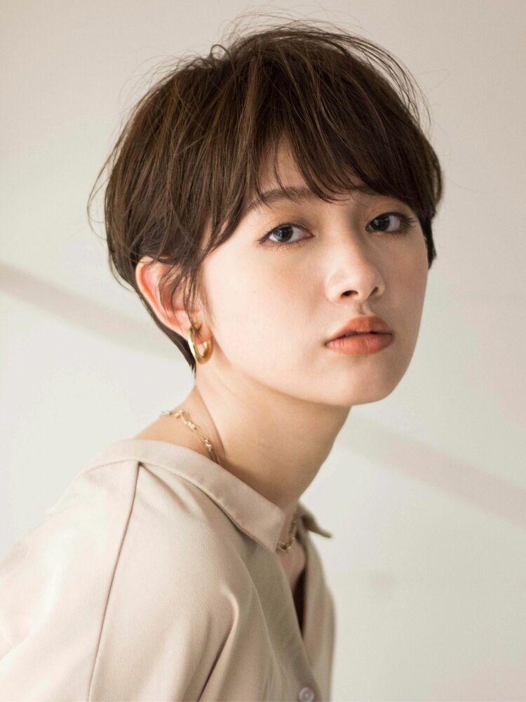 マッシュショート/大人ショートカット/30代40代/田中隆太