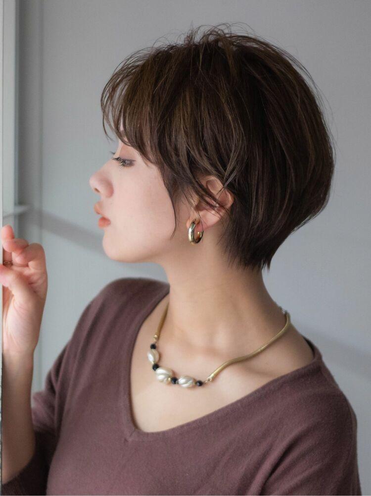 青山 表参道 ショートヘア 髪型 30代40代 田中隆太