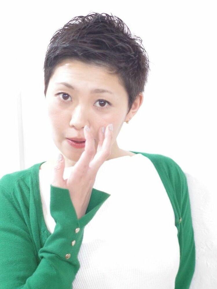 [Sourire結城]大人女性のベリーショートスタイル