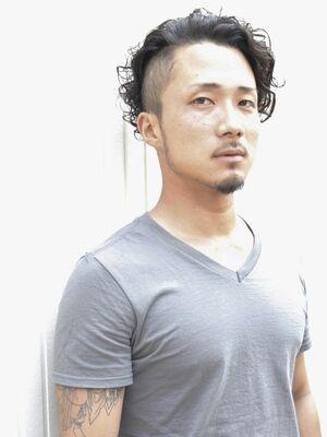 [Sourire結城]メンズ刈り上げパーマスタイル