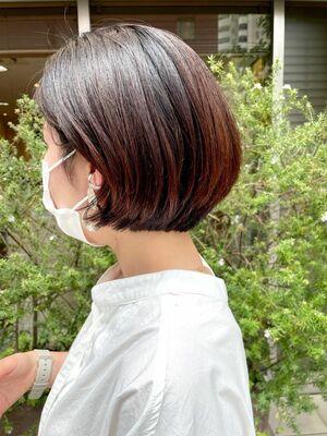 髪の量が多くても広がりませんか??【首がスッキリ見えるボブ】