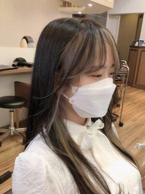 韓国風フェイスフレーミング
