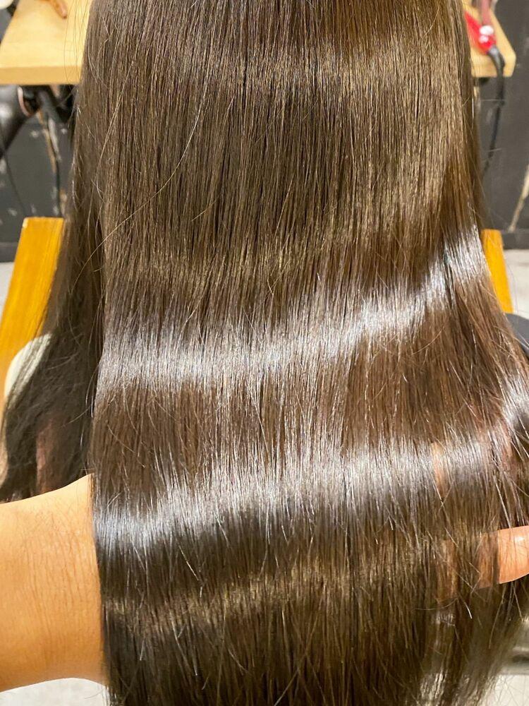 最新!!髪質改善 リンゴ幹細胞培養液 TOKIOトリートメント 酸性ストレート
