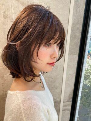 25歳〜30代お勧め!!ボブ×アンニュイパーマ