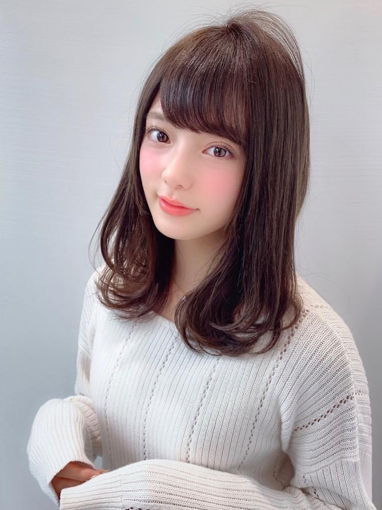 AFLOAT WORLD亀山勝喜20代30代◎大人可愛い前髪パーマで簡単スタイリング