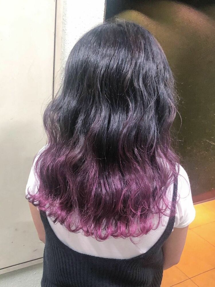 purple gradation color