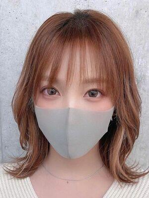 今、大注目の韓国発根元パーマでふんわり立ち上がりUP☆