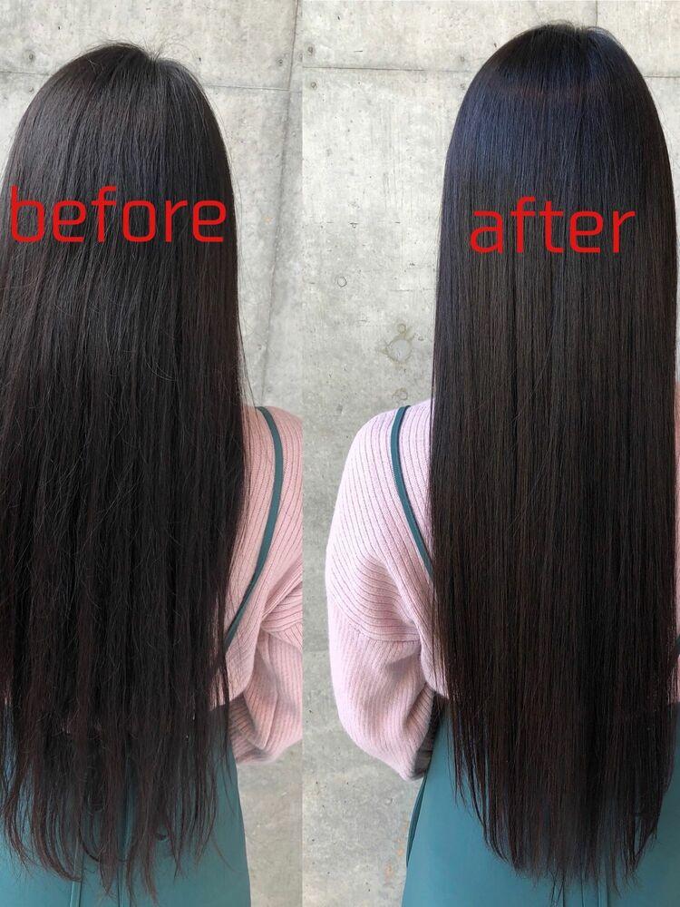 本物の髪質改善で持続する艶髪を手に入れましょう☆