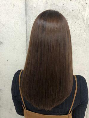 圧倒的な艶の美髪に☆縮毛矯正でもトリートメントでもない新技術を体感してください