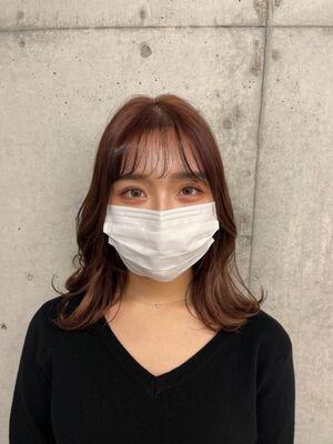 根元パーマでふんわり☆注目の韓国式パーマで簡単に立ち上がりを