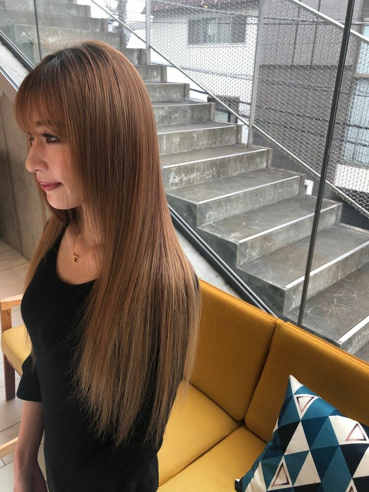 ブリーチ毛だからとヘアケアを諦めていた方必見☆次世代髪質改善でブリーチ毛もサラサラに
