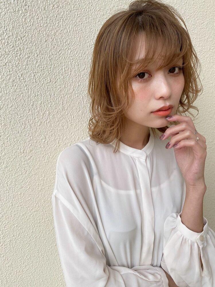 EVOKE TOKYO[稲津 隆]大人可愛いこなれ感ベージュ